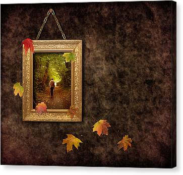 Autumn Frame Canvas Print by Amanda Elwell