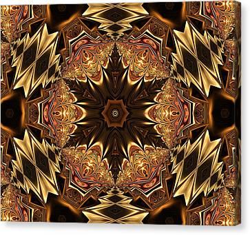 Algorythm Canvas Print - Autumn Glamour by Georgiana Romanovna