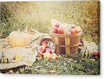 Autumn Harvest Canvas Print by Heather Applegate