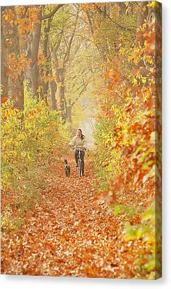 Autumn In Eindhoven Canvas Print by Zoya Bagdja
