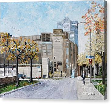 Autumn In The City Canvas Print