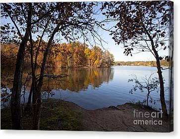 Autumn On Lake Norman Canvas Print