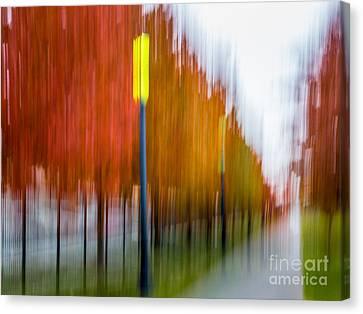 Autumn Park 1 Canvas Print