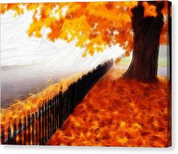 Autumn Canvas Print by Steve K