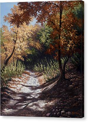 Autumn Trails Canvas Print