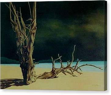 Workshop Guillaume Art Gallery Canvas Print - Avant L Orage by Guillaume Bruno