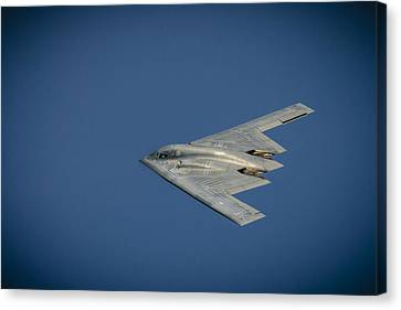 B2 Bomber  Canvas Print by Bradley Clay