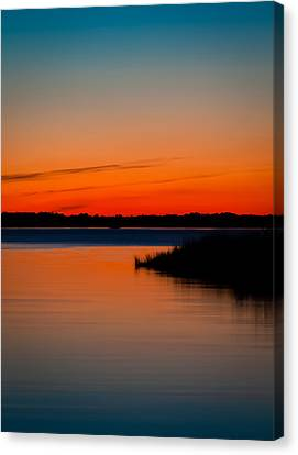 Back Bay Sunset Canvas Print