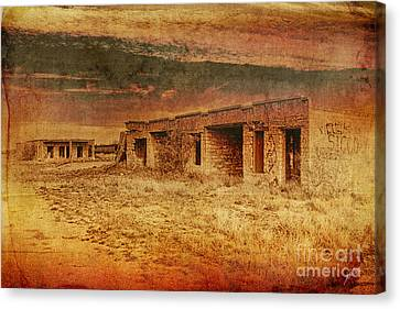 Back In The Day Canvas Print by Erika Weber