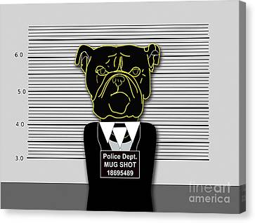 Bad Dog Canvas Print by Marvin Blaine
