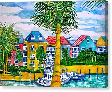 Bahamian Blues Canvas Print