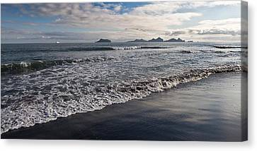 Bakkafjara Beach, South Coast, Iceland Canvas Print