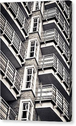 Balconies Canvas Print