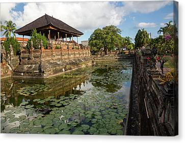 Bali, Indonesia The Bale Kambang Canvas Print by Charles O. Cecil