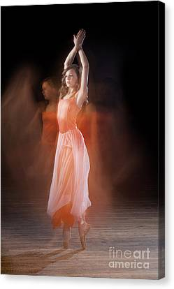 Ballerina Canvas Print by Cindy Singleton