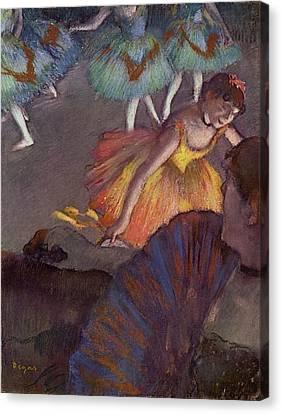 Ballet Canvas Print by Edgar Degas