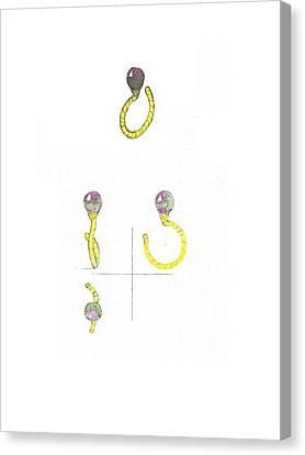 Balloons Ring Canvas Print