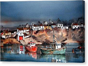 Ballycotton Harbour East Cork Canvas Print