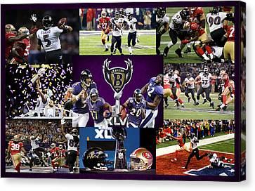 Baltimore Ravens Canvas Print