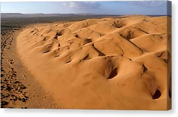 Barchan Dunes Canvas Print by Thierry Berrod, Mona Lisa Production