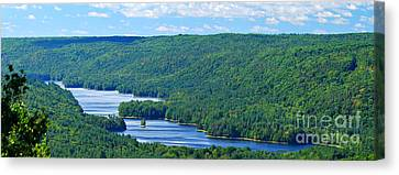 Barkhamsted Reservoir Canvas Print