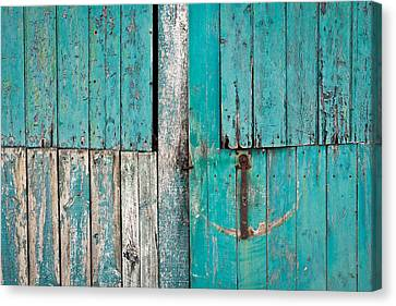 Barn Door Canvas Print by Tom Gowanlock
