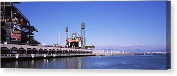 Baseball Park At The Waterfront, At&t Canvas Print