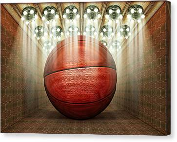 Basketball Museum Canvas Print