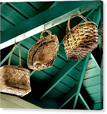 Baskets  Canvas Print