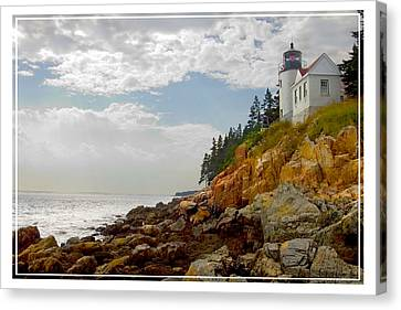 Bass Harbor Head Lighthouse Canvas Print by Mike McGlothlen