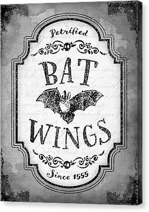 Bat Wings Canvas Print by Jennifer Pugh