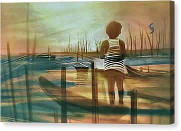 Batang Pinoy 1980 Canvas Print by Glenn Bautista