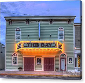 Bay Theatre In Sutton's Bay Canvas Print by Twenty Two North Photography