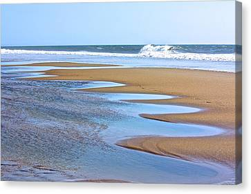 Beach Hand Canvas Print