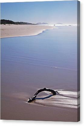 Canvas Print featuring the photograph Beachscape by Ankya Klay