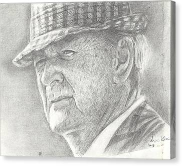 Bear Bryant Canvas Print