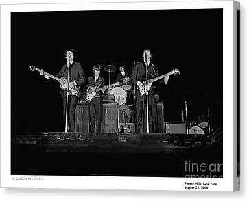 Beatles - 9 Canvas Print
