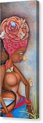 Beauty Canvas Print by Chibuzor Ejims