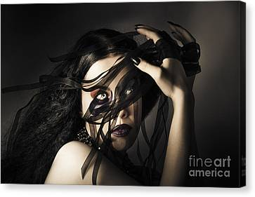 Fabric Canvas Print - Beauty Queen Clothing Designer. Fine Art Fashion by Jorgo Photography - Wall Art Gallery