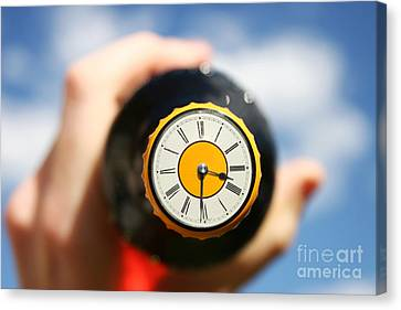 Booze Canvas Print - Beer Oclock by Jorgo Photography - Wall Art Gallery