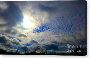 Before Rain Canvas Print