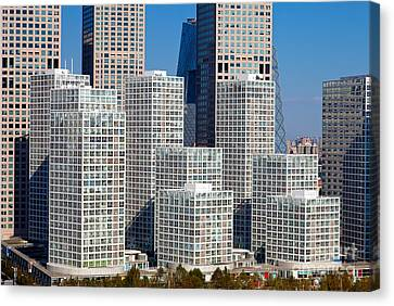 Beijing Central Business District China Canvas Print