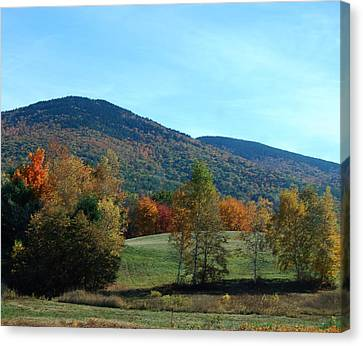 Belknap Mountain Canvas Print by Mim White