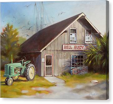 Bell Buoy Canvas Print
