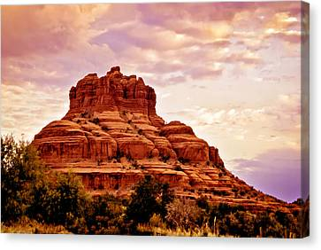 Bell Rock Vortex Painting Canvas Print