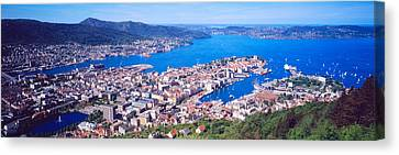 Norway Canvas Print - Bergen Norway by Panoramic Images