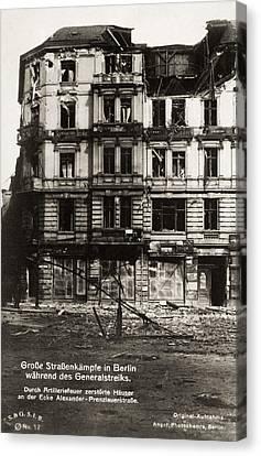 Berlin General Strike, 1920 Canvas Print by Granger