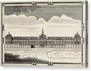 Bethlem Hospital, 18th Century Canvas Print by Middle Temple Library
