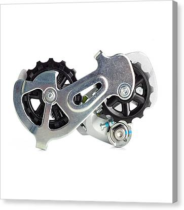 Bicycle Derailleur Canvas Print by Science Photo Library