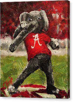 Big Al Canvas Print by Carole Foret
